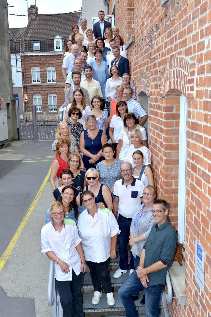 L'équipe éducative du Centre Scolaire 2016-2017